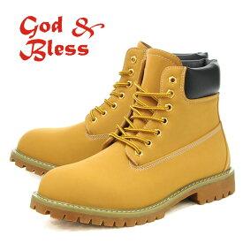 2465d118b1 ゴッド&ブレス ワークブーツ イエローブーツ 6インチブーツ メンズ レディース ウィメンズ 靴 くつ クツ