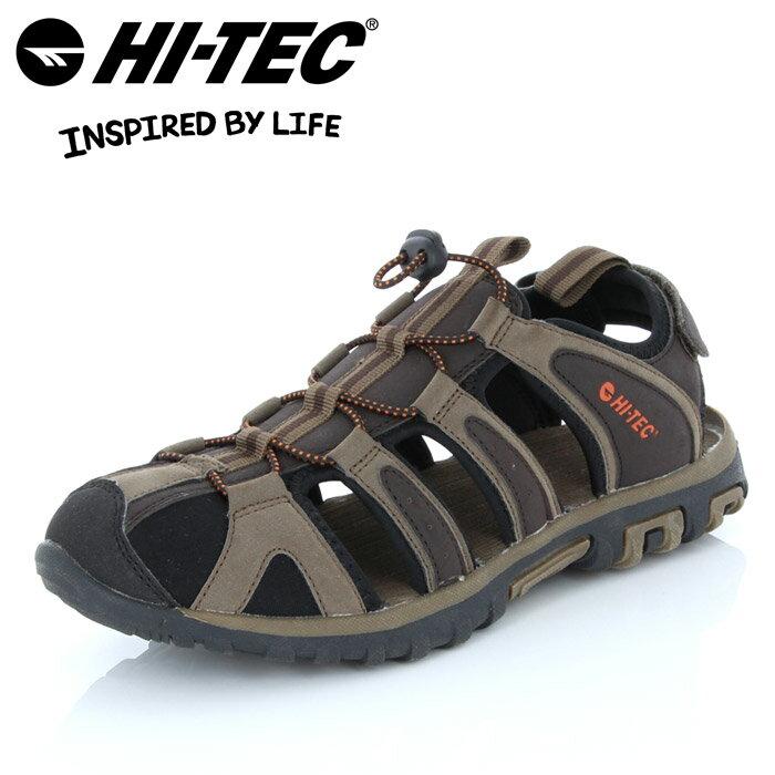 ハイテック コーブ サンダル 53142708 スポーツサンダル 靴 メンズ 茶 ブラウン チョコレート HI-TEC COVE CHOCOLATE MENS 男性用 水陸両用 大きいサイズ