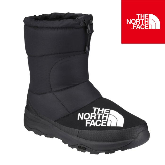 送料無料 ノースフェイス ヌプシ ダウン ブーティー メンズ レディース ブーツ ウィンターシューズ 防寒 保温 撥水 ブラック THE NORTH FACE Nuptse Down Bootie NF51877 2018FW新作