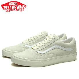 送料無料 バンズ オールドスクール スニーカー メンズ レディース ローカット スケートシューズ 定番 ホワイト 白 VANS OLD SKOOL CLASSIC MARSHMALLOW/TRUE WHITE VN0A4U3B19A 靴 くつ クツ