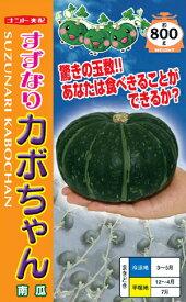 すずなりカボちゃん[種子小袋(約8粒)入り]