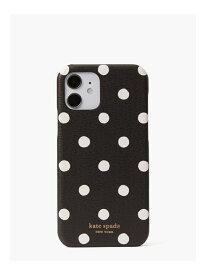 アイフォン ケース サンシャイン ドット ケース 12/12 pro kate spade new york ケイトスペードニューヨーク ファッショングッズ 携帯ケース/アクセサリー ブラック【送料無料】[Rakuten Fashion]
