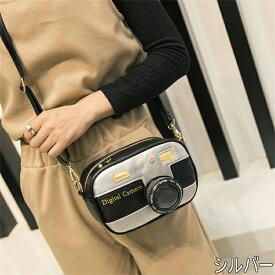 カメラデザイン ショルダーバッグ メッセンジャーバッグ 原宿系 ファッション レディースバッグ 奇抜 派手 カワ 個性的 ダンス 衣装 ヒップホップ 韓国