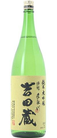 □【日本酒】手取川(てどりがわ)純米大吟醸 吉田蔵 1800ml