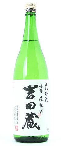 ☆【日本酒】手取川(てどりがわ)大吟醸 吉田蔵 1800ml