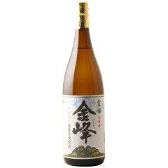☆【芋焼酎/新焼酎】金峰(きんぽう)荒濾過平成29年新酒25度1800ml