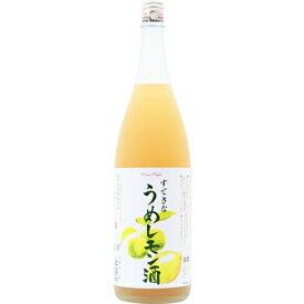 □【リキュール★うめレモン】麻原酒造 すてきなうめレモン酒 1800ml