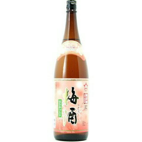 ☆【梅酒】タカラボシ梅酒 12度 1800ml