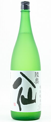 ☆【日本酒】陸奥八仙(むつはっせん)特別純米 白ラベル 1800ml
