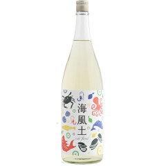☆【日本酒】富久長(ふくちょう)純米海風土シーフード1800ml