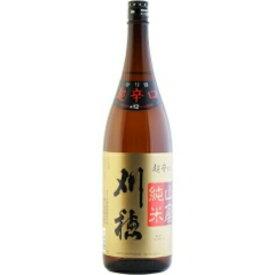【日本酒】刈穂(かりほ)山廃純米 超辛口 1800ml