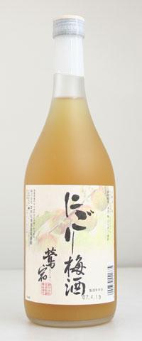☆【梅酒】鳴門鯛 にごり梅酒 12度 720ml