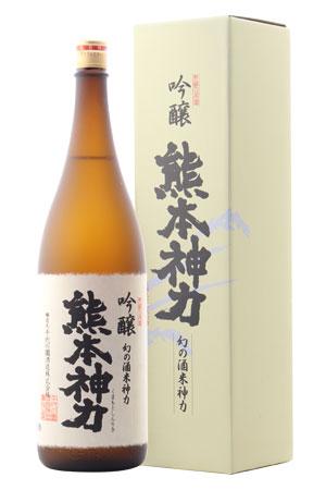 ☆・【日本酒】千代の園 熊本神力 吟醸 1800ml