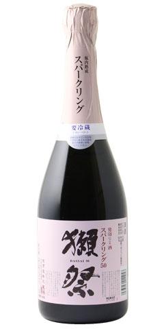 ☆【日本酒】獺祭(だっさい)発泡にごり酒 50 720ml ※クール便発送 ※お一人様6本迄