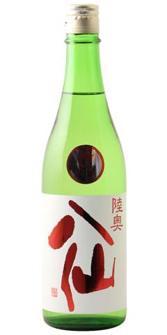 ☆【日本酒】陸奥八仙(むつはっせん)赤ラベル 特別純米 火入れ 720ml ※クール便発送