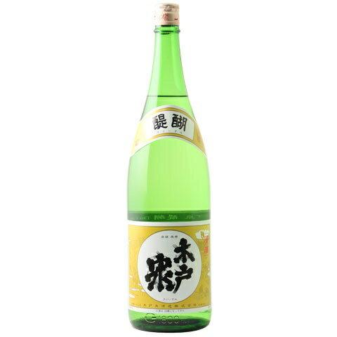 ☆【日本酒】木戸泉(きどいずみ)山廃純米 醍醐 1800ml