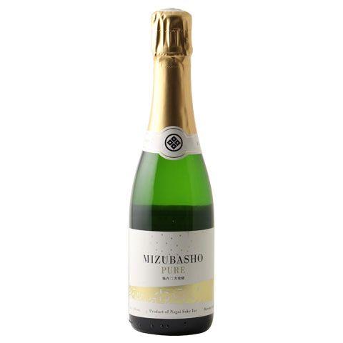 ☆【スパークリング日本酒】水芭蕉(みずばしょう) ピュア Mizubasho Pure 瓶内二次発酵 360ml ※クール便発送