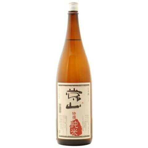 ☆【日本酒】常山(じょうざん) 特撰純米 1800ml