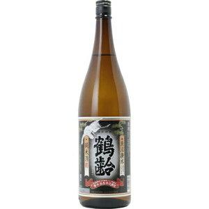 □【日本酒】鶴齢純米レトロラベル1800ml