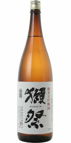 ☆【日本酒】獺祭(だっさい)純米大吟醸 50 1800ml ※お一人様6本迄 ※製造年月9月以降〜