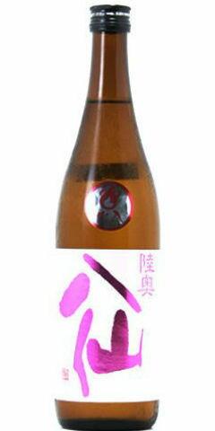 ☆【日本酒】陸奥八仙(むつはっせん)ピンクラベル 吟醸 火入れ 720ml ※クール便発送