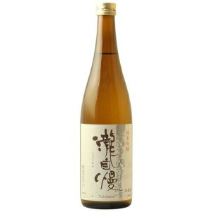 ☆【日本酒】瀧自慢(たきじまん)純米吟醸720ml※クール便発送