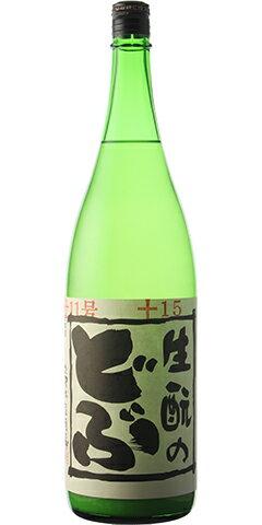 ☆【日本酒】生もとのどぶ 純米にごり 11号 30BY 1800ml