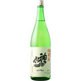 【日本酒】神亀(しんかめ)純米酒 辛口 1800ml