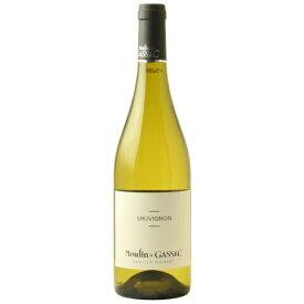 【白ワイン】ムーラン・ド・ガサック ソーヴィニヨン 750ml ※商品名にビンテージ記載のない場合現行ビンテージとなります