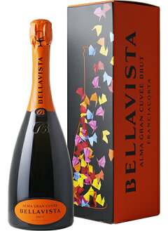 ☆・【スパークリングワイン】ベラヴィスタフランチャコルタアルマグランキュヴェブリュットN.V.箱入り750ml