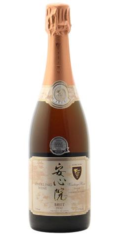 ☆【スパークリングワイン】安心院(あじむ)葡萄酒工房 安心院(あじむ)スパークリングワイン ロゼ 750ml※お一人様3本迄