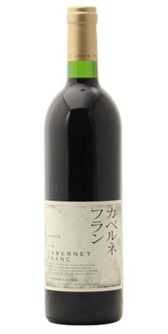 ☆【赤ワイン】中央葡萄酒グレイス カベルネフラン 2014 750ml