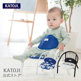 豆イス パイプイス 静かなパイプイス チェアベルト付き katoji KATOJI カトージ
