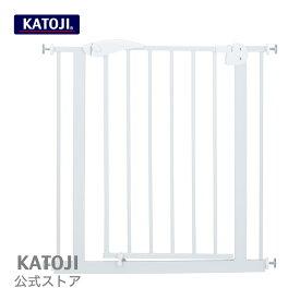 【11/25限定 P5倍】 ベビーゲート|ベビーセーフティオートゲート(ホワイト) katoji KATOJI カトージ