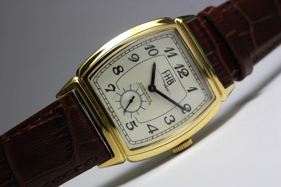映画「相棒」着用モデル!FHB Classicデザインウォッチ/トノー型腕時計