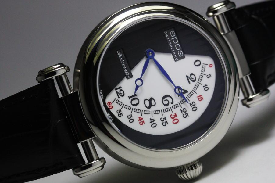 限定888本!スイス製EPOS【エポス】ORIGINALレトログラード自動巻き腕時計/正規品