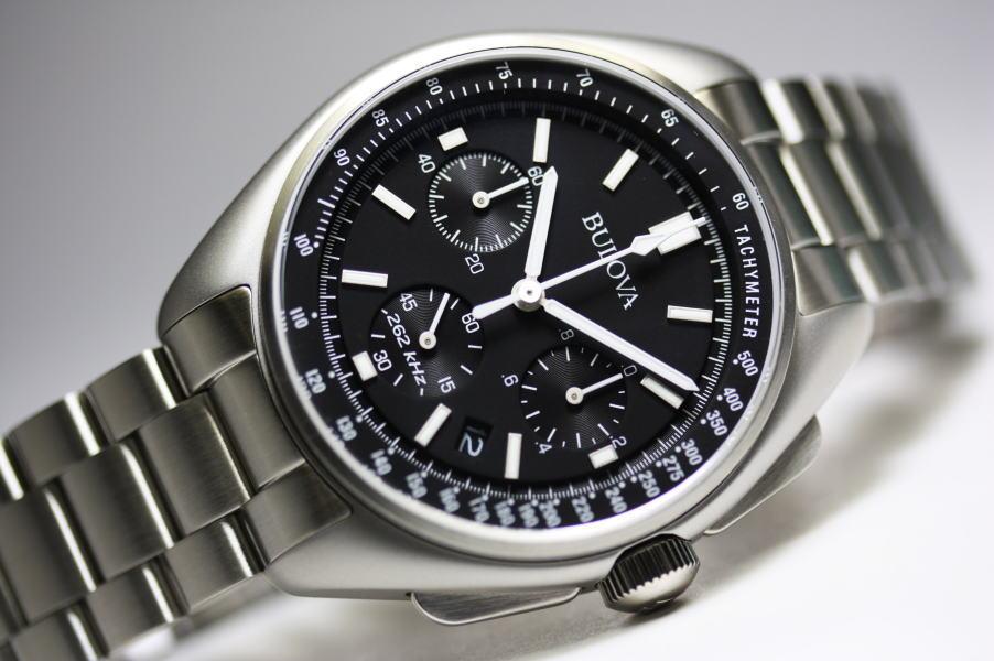 BULOVA【ブローバ】MOON WATCH【ムーンウォッチ】クォーツ・クロノグラフ腕時計/正規代理店商品