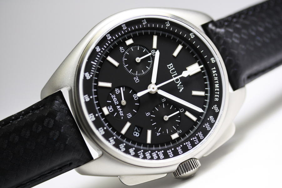 BULOVA【ブローバ】MOON WATCH【ムーンウォッチ】クォーツ・クロノグラフ腕時計/ナイロンバンド付属/正規代理店商品