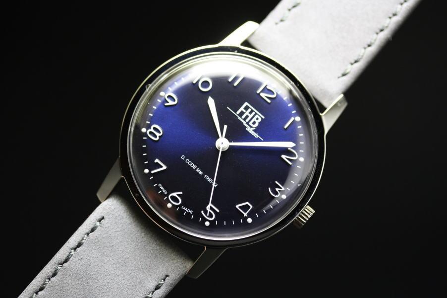 FHB Classicデザインウォッチ/腕時計ヴィンテージデザイン/正規代理店商品ヌバック仕様