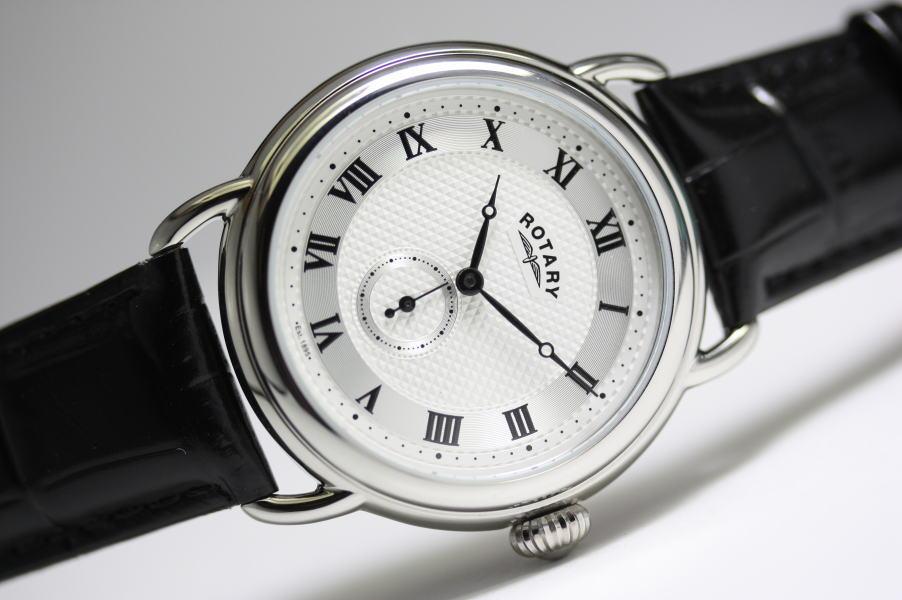 ROTARY【ロータリー】クラシック・クォーツ腕時計/BBCドラマ「SHERLOCK3」で採用!正規代理店商品