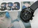 ドラマ「99,9」で採用のVAGUE WATCH Co.【ヴァーグ・ウォッチ・カンパニー】ブラック・クロノグラフ・クォーツ腕時計/ドラマ主人公着用…