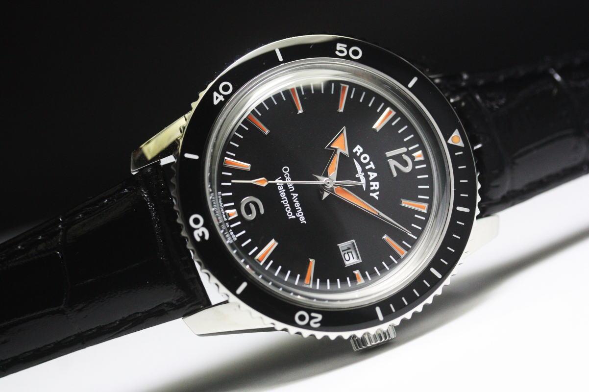 復刻!ROTARY【ロータリー】OCEAN AVENGER【オーシャン・アヴェンジャー】クォーツ腕時計/正規代理店商品