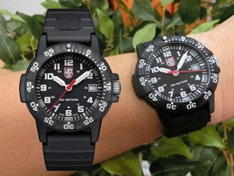 尺寸降低!紅針!瑞士製造LUMINOXNAVY SEAL 0300SEA TURTLE GIANT100m防水手錶/正規代理店商品