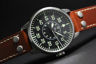 田 RACO 德国空军重印版自动计时手表