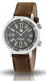 1967年の復刻!フランスのLIP【リップ】NAUTIC-SKI【ノーティックスキー】自動巻き腕時計/200m防水