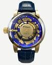 フランスのDupont【エス・テー・デュポン】HYPERDOME【ハイパードーム】ドーム型ミネラルクリスタル採用クォーツ腕時計/メーカー希望小…