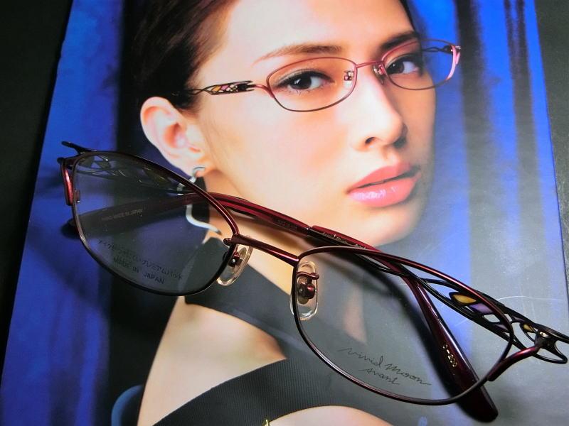 日本製Vivid Moon Avant【ビビッドムーン・アヴァン】メタルフレーム/メガネフレーム/眼鏡/日本製/女性用アイウェア/北川景子さん着用モデル