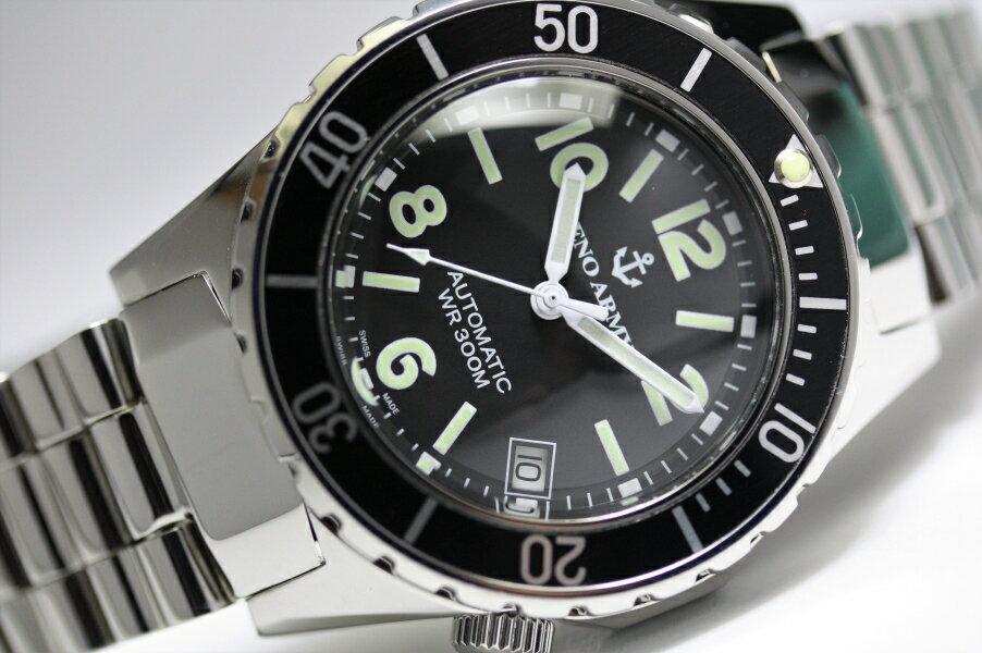 スイス製ZENO WATCH BASEL【ゼノ・ウォッチ・バーゼル】ゼノアーミー・ダイバー自動巻き腕時計/メンズウォッチ/ボーイズ