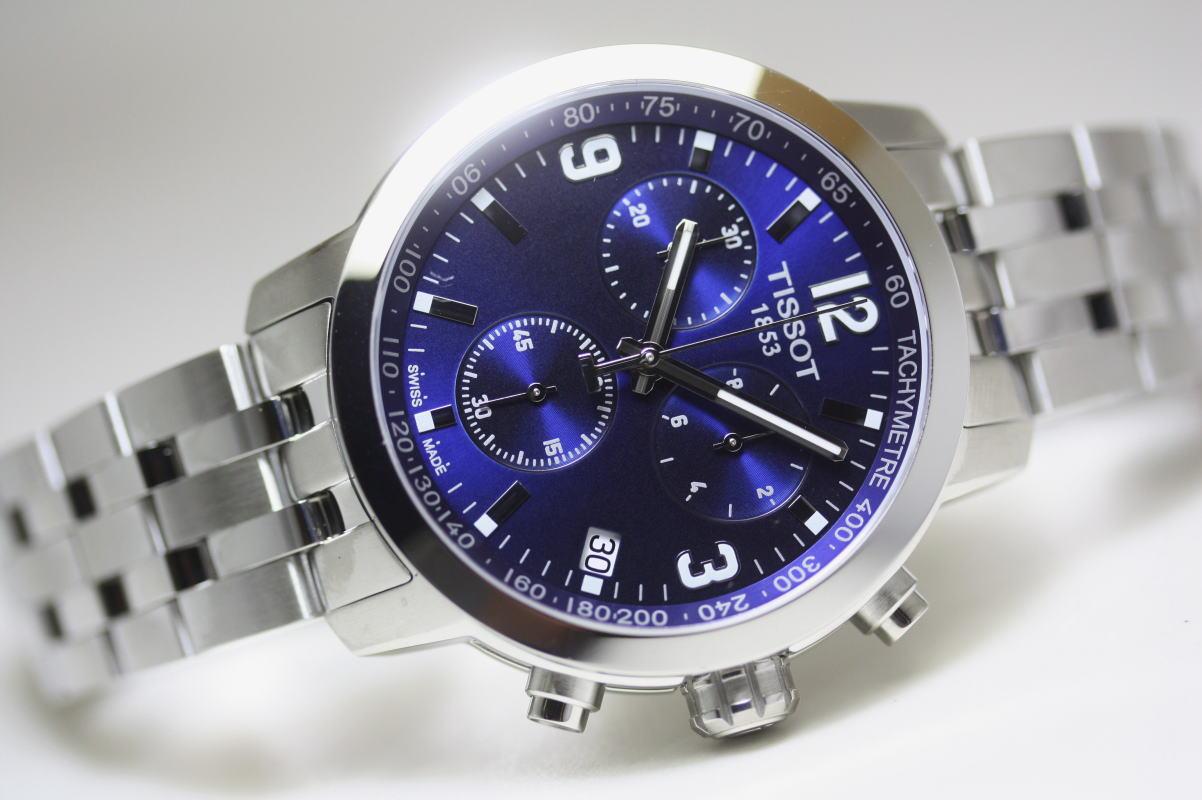スイス製Tissot【ティソ】PRC200クォーツ・クロノグラフ腕時計/正規代理店商品
