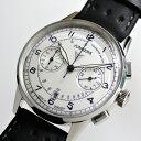 外箱が無いためお買得価格!ヴィンテージ・スタイル!ドイツ製 Junkers ユンカース G38クォーツ・クロノグラフ腕時計 パイロットウォッ…
